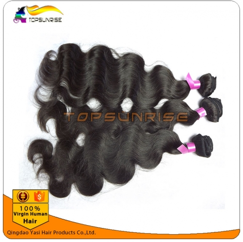 Factory direct sales 8A 100% virgin human body wave hair weave double drawn body wave virgin hair  ,unprocessed virgin malaysian hair weft