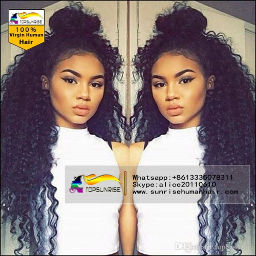lace wig manufacture ,human hair high density lace wig , high density lace front human hair wig with baby hair
