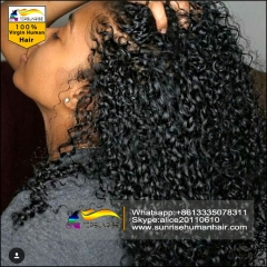 DHL Free shipping high density lace wig human hair brazilian afro kinky curly lace front wig with baby hair,300% density