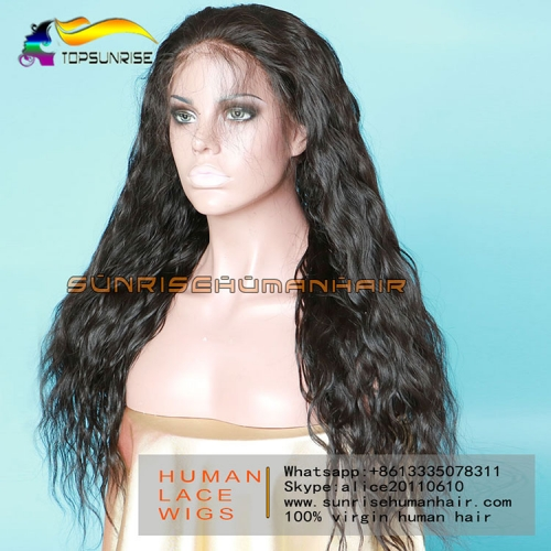 Big Discount high density full lace virgin hair wig glueless, 4x4 silk base full lace wig loose wave small/medium/large cap,ready to ship!