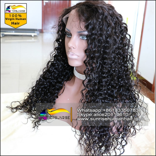 Big Discount 200% density full lace silk base wig with baby hair,glueless 4x4 silk base full lace wig small/medium/large cap,ready to ship!