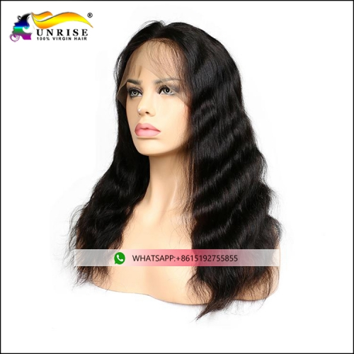 Hot sales body wave invisible hairline full lace Chinese hair wig for women Chinese peruca virgin human hair