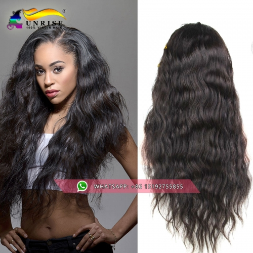 Hot selling!heavy density  loose wave lace front wig malaysian hair,300% density free part lace front human hair wig ,medium cap ,natural color .