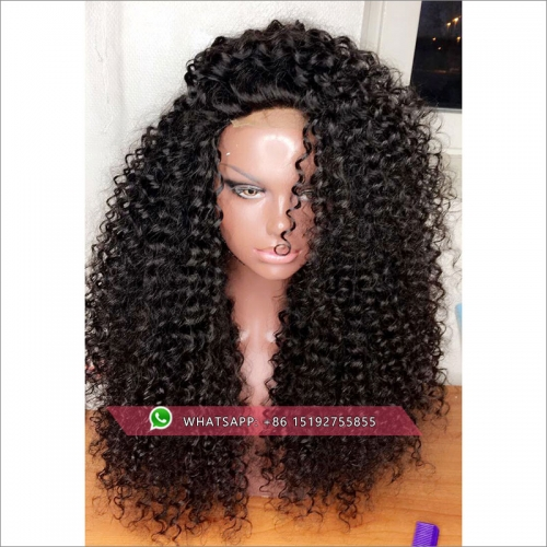100% Human hair 300% density Tight Curly lace front wig glueless,300% density braziilan lace front  wig 13x6inches,13x4inches