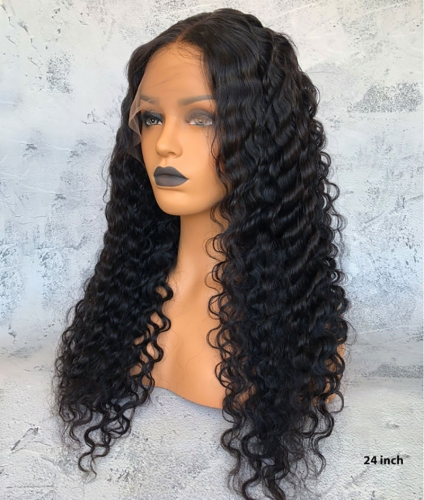 100% human hair full lace wigs for black women ,Free shipping full lace wig brazilian hair pre plucked