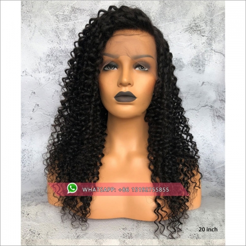 100% human hair Tight curly full lace wigs for black women ,Free shipping full lace wig brazilian hair pre plucked