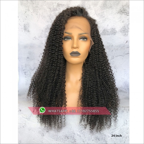 Brazilian Kinky Curly full lace wigs for women ,Free shipping full lace wig  human hair For Black Women
