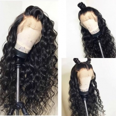 Top Quality 100% human hair 130% density  brazilian Curly full lace wigs with baby hair ,Glueless human hair lace wig Pre plucked