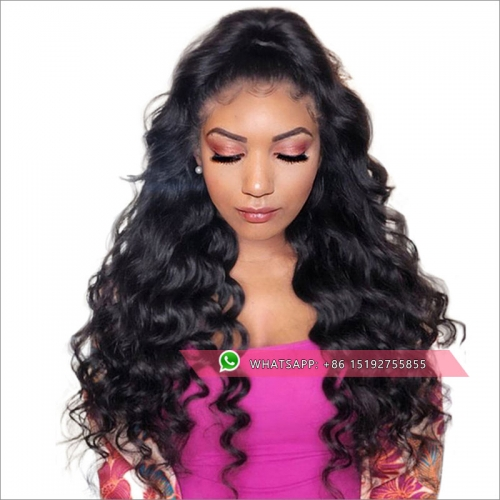 Wholesale 300% density curly lace front  brazilian wig, lace front human hair wigpre plucked 13x6inches,13x4inches