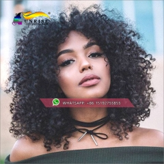 Wholesale glueless lace front wigs kinky curly brazilian hair,virgin remy hair lace front human hair wigs pre plucked,13x6inches,13x4inches