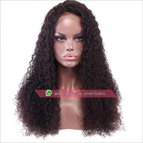 Hot selling tight curly lace front wigs brazilian hair,virgin remy hair lace front human hair wigs pre plucked,13x6inches,13x4inches
