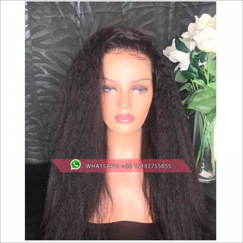 Malaysian 360 Lace Frontal Wig Pre Plucked Lace Front Human Hair Wigs