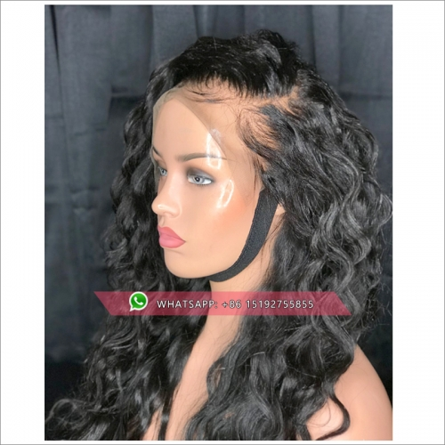 Brazilian loose Curly Human Hair Wig Lace Front Human Hair Wigs Remy Human Hair Wigs 300% Density Human Hair Wigs For Black Women