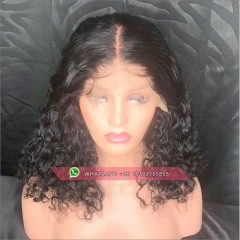 Glueless Full End Lace  Human Hair Wigs For Women Brazilian full lace  Wig Black  Remy  hair
