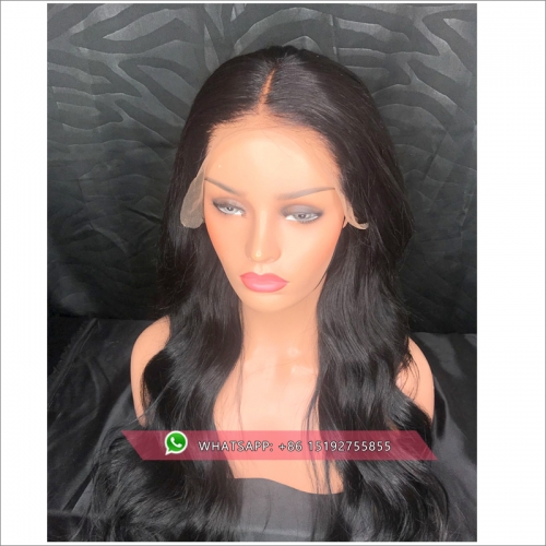 Body Wave 360  Lace Human Hair Wigs With Baby Hair Pre Plucked Brazilian  360 frontal Lace Wigs For Black Women Remy Hair Wigs