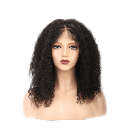 Top Quality Curly full lace brazilian hair Wigs For black women,  100% human hair Lace Wig glueless.