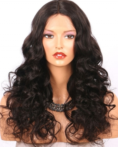 Wholesale 100% human brazilian Hair curly lace front wigs 300% densityfor black women 300% density free shipping to US