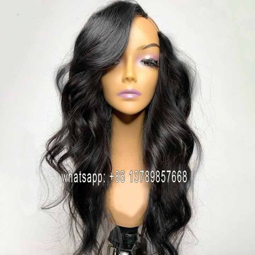 body wave side u part wig Glueless U Part Wig Human Hair Wigs 200% Brazilian Can Do Any Side Remy Can Be Permed & Dye